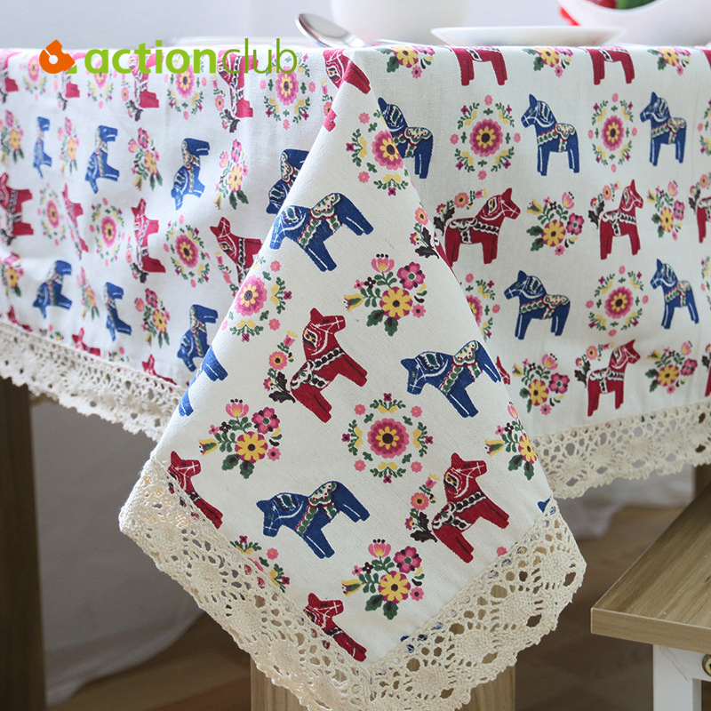 2016 New Arrival Table Cloth Cartoon High Quality Lace Tablecloth Decorative Elegant Table Cloth Linen Table Cover HH1533(China (Mainland))
