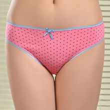 Free shipping 5pcs/lot Selling Cotton women's briefs sexy low-waist panties Ladies briefs Ladies Cotton Briefs underwear 86827(China (Mainland))