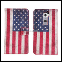 US&UK Retro Flag Style LG G2 PU Stand Leather Case + Free Screen Protector - Great Deals Technology Co.,Ltd. store