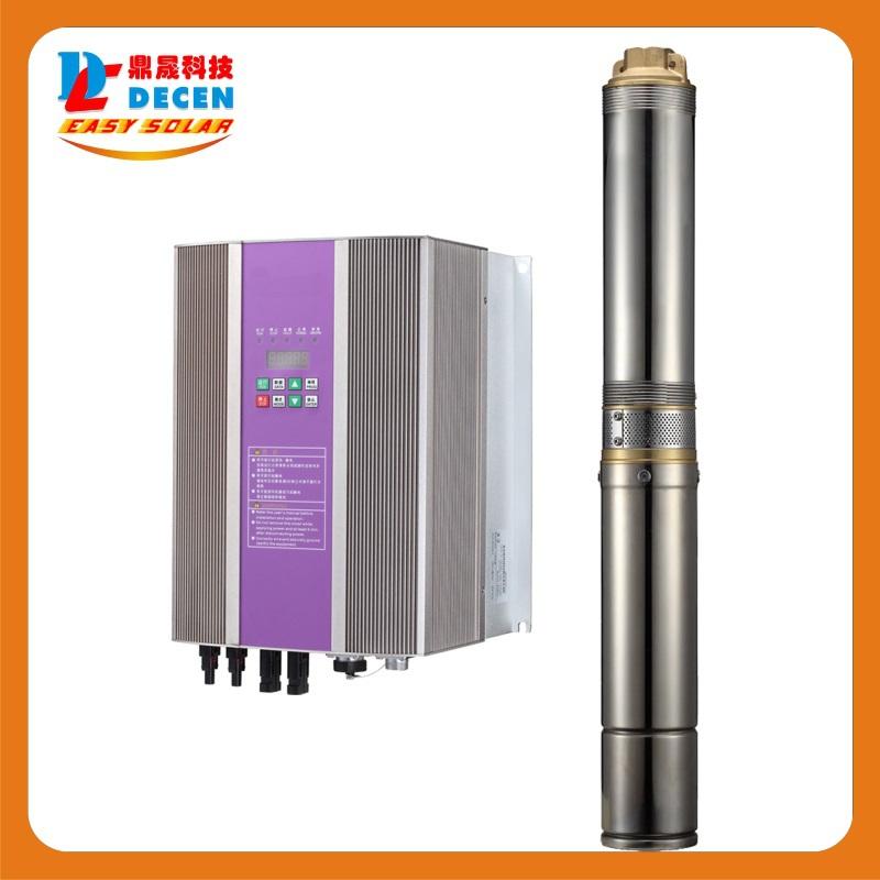 DECEN@ 550W AC Water Pump+1500W Solar Pump Inverter For Solar Pump System Adapting water head(23-15m)Daily Water Supply(20-40m3)(China (Mainland))