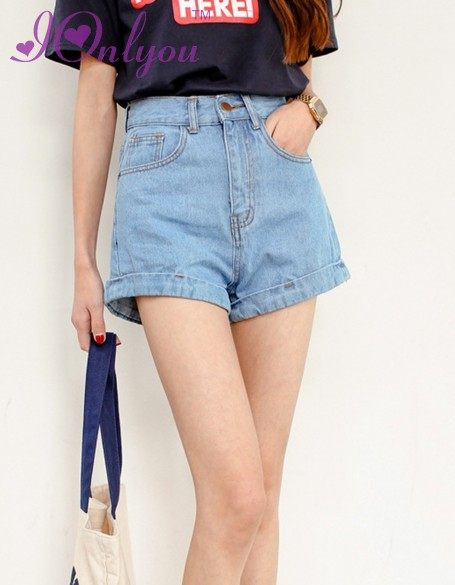 Loose Denim Shorts