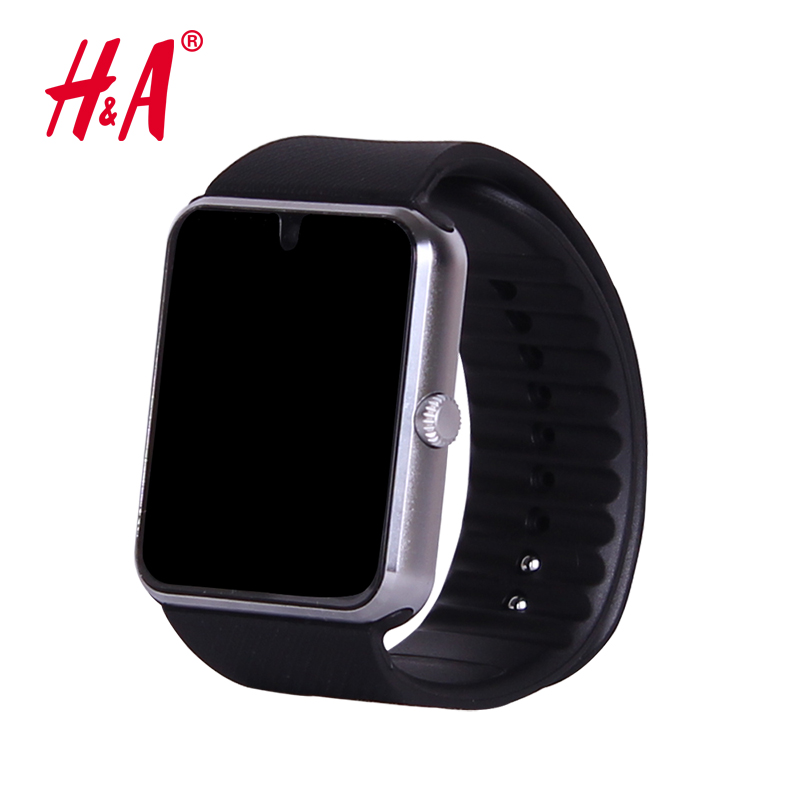 Smart Watch GT08 Clock Sync Notifier Support Sim Card Bluetooth Connectivity for Apple iphone Android Phone Smartwatch(China (Mainland))