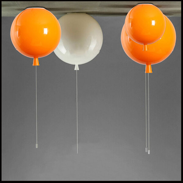 Minimalist style Colorful balloon ceiling light children bedroom ceiling lamp acrylic creative dining room bedside ballon lamp(China (Mainland))