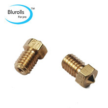 3D printer parts DIY Reprap brass E3D-V6 nozzle 0.3 mm1.75 mm filament hotend marked number