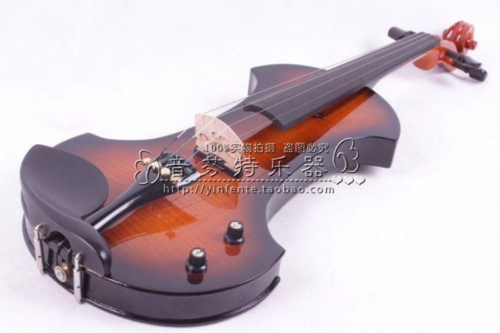 Electro- violin electronic violin mute electric violin(China (Mainland))