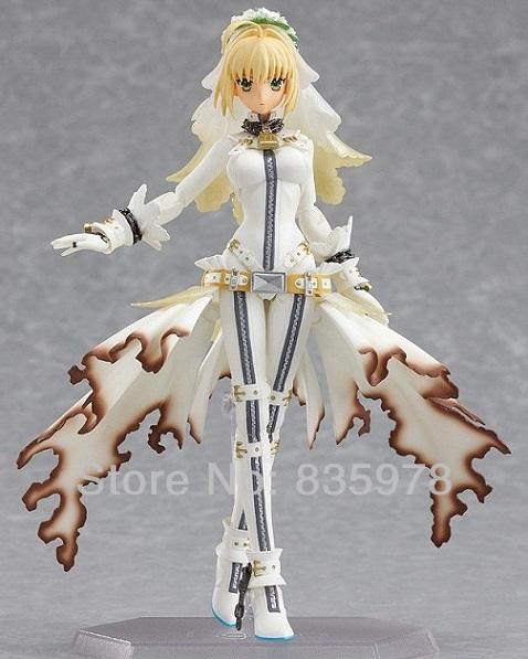 New figma Saber Bride PVC Action Figure Max Factory Beautifull FateToy(China (Mainland))