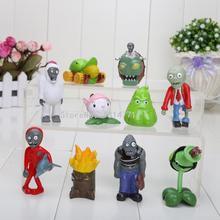Buy Plants VS Zombies PVZ 3-7cm Collection Figures 10pcs/set boss zombies snow Figure for $11.04 in AliExpress store