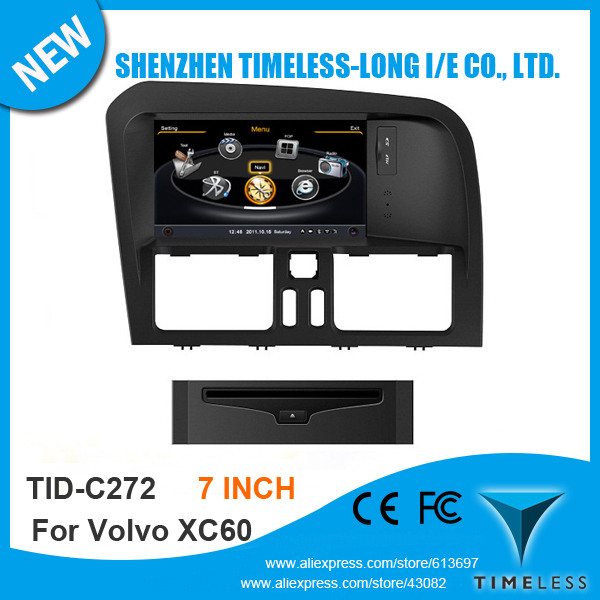 S100 1G CPU Car GPS For Volvo XC60 With Stereo A8 Chipset Dual Core 3 Zone POP 3G Wifi BT FM/AM Radio 20 Dics Playing Free Map(China (Mainland))