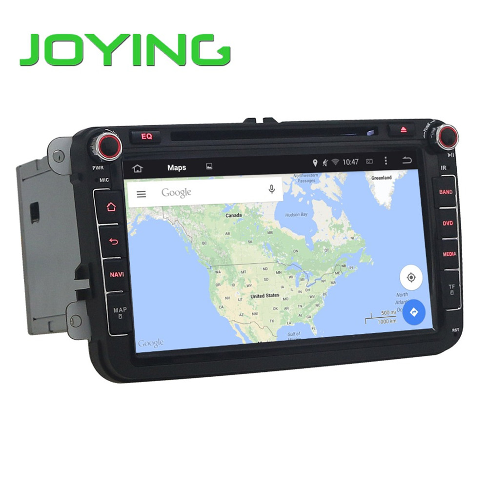Joying Android 5.1.1 Car Stereo DVD Player Double Din Quad Core 1024*600 Head Unit Auto GPS Navigation For VW Skoda Seat(China (Mainland))