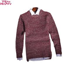 Men Sweater 2015 Fashion Men Pullovers V-Neck Long Sleeves Knitted Men Sweater(China (Mainland))