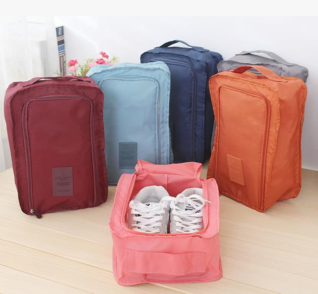 New fashion high quality travel Receive bag, folding waterproof shoe bag, shoe Receive bag multifunction(China (Mainland))
