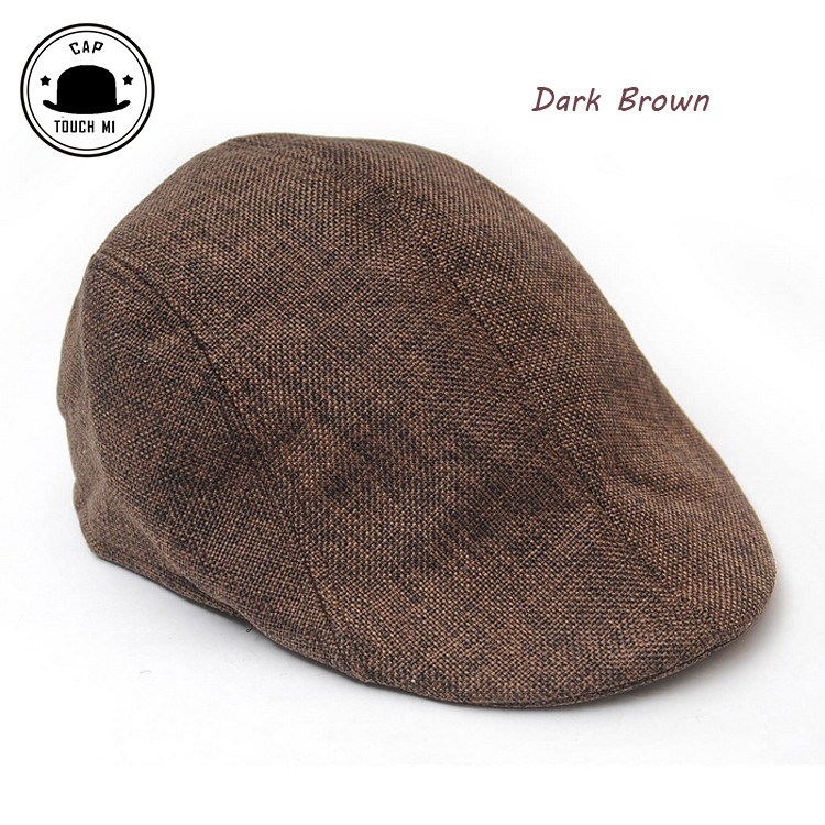 2015 new Summer beret men design linen hat women autumn and winter berets comfortable boinas breathable mesh cap sunbonnet toca(China (Mainland))