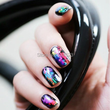 3pcs lot 46 Designs Nail Art Transfer Foils Sticker Hot Beauty Free Adhesive Nail Polish Wrap