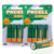 8Pcs/2card PKCELL Ni-Zn AA Batteries 1.6V 2500mWh Rechargeable 2A Battery