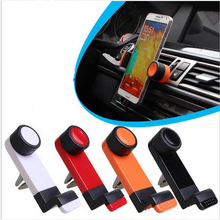 Vente chaude universal Mobile voiture support de voiture support de téléphone portable sortie de voiture support de téléphone portable pour voiture air vent