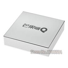 Lastest IPTV HiMedia H6 Bluetooth 4.0 Control de Voz Inteligente Android 5.1 TV Box 4 K Full HD Jugador con 300 Chino TV En Vivo canales