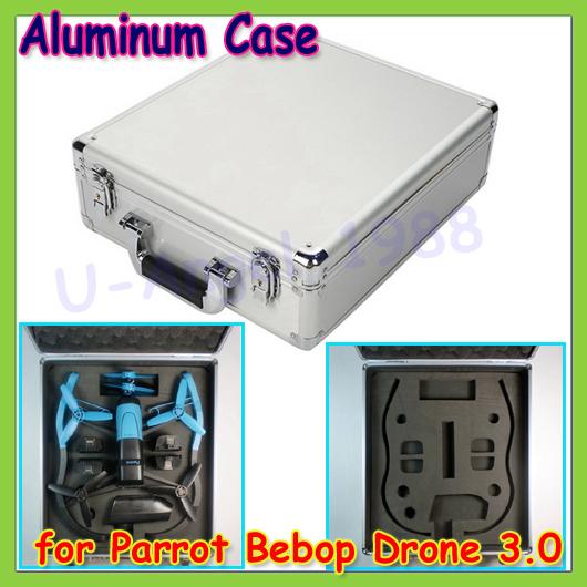 Wholesale 1pcs Professional Aluminum Suitcase Hard Case Box for Parrot Bebop Drone 3.0 by phone<br><br>Aliexpress
