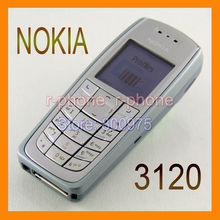 Refurbished Origianl Brand Nokia 3120 Mobile Phone GSM Tri-Band Unlocked 3120c Cellphone Russian Arabic Keyboard(China (Mainland))
