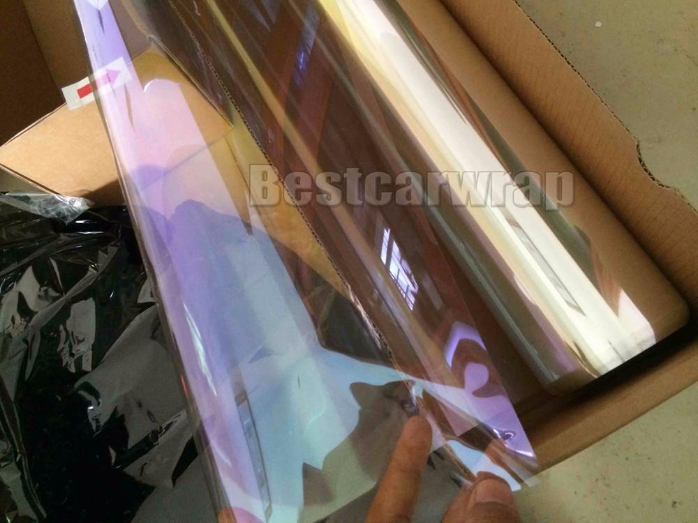 purple High performance window chameleon tint film (15)