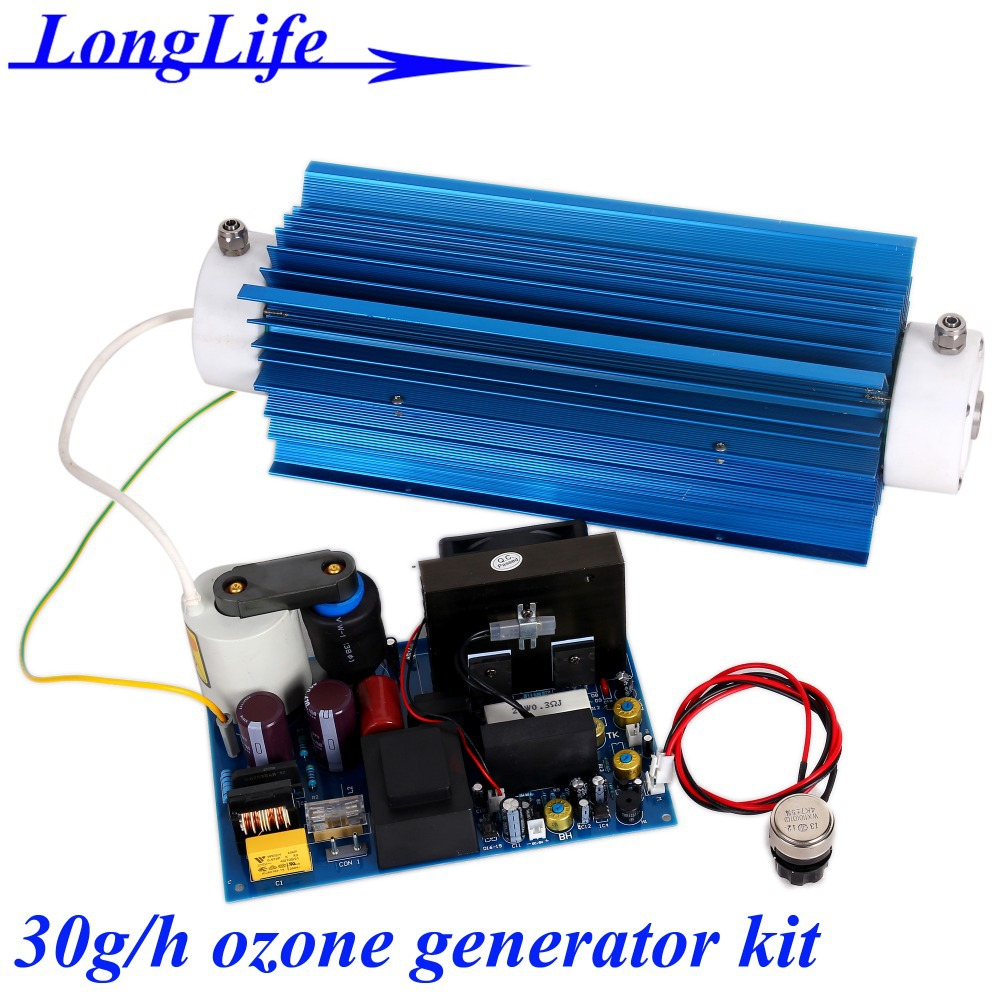 LF-11030QBOT, AC220V/AC110V 30g/h 30gram adjustable Quartz tube type ozone generator Kit for Swimming pool water disinfection<br><br>Aliexpress