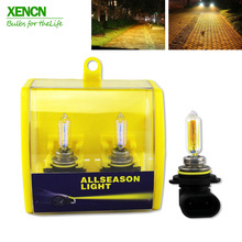 Buy XENCN H1R2 9012 12V 55W 2300K Golden Eyes Super Xenon Yellow Car Light Headlight Bulbs Halogen Lamp for $27.51 in AliExpress store