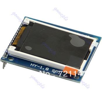 "J34 Free Shipping 1.8"" Serial SPI TFT LCD Module Display + PCB Adapter Power IC SD Socket 128X160"
