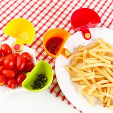 Dip Bowl for Assorted Salad Sauce Ketchup Jam Flavor Sugar Spices Dip Clip Cup Bowl Saucer Tableware Kitchen Accessories gadgets
