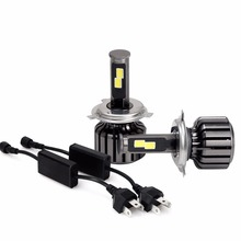 LEADTOPS 1Set 120W H4 Led 9600LM LED Car Headlight 9005 H11 H7 9006 Driving Lamp Bulb External Lights H1 Fog Head Light DE - HANSON JACK CO.,LIMITED store