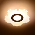 LED Ceiling Light Flower Round Aisle Light Acryl Balcony Ceiling Lamp Simple Nice Luminaire Porch Wall