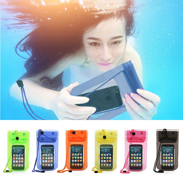 Mobile Phone Waterproof Bag Case Cover Underwater for iPhone4 4S 5 5S Water proof Mobile Phone Accessories & Parts Free Shipping(China (Mainland))