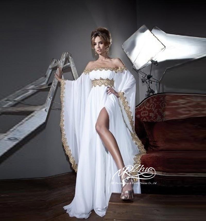 Evening Dress New Arrival Top Quality Marocain Islamic Caftan Abaya in Dubai Long Sleeve Gowns Moroccan Kaftan Dresses(China (Mainland))