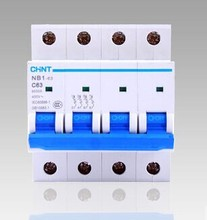Buy CHINT MCB NB1-63 C10A 4P low voltage mini miniature circuit breaker Modular DIN Rail motor protection for $64.00 in AliExpress store