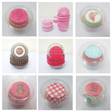 200PCS/Lot Christmas Lace Paper Cupcake Liners Cases Muffins Baking Pastry Wrappers Cooking Tools Kitchen Accessories Supplies(China (Mainland))