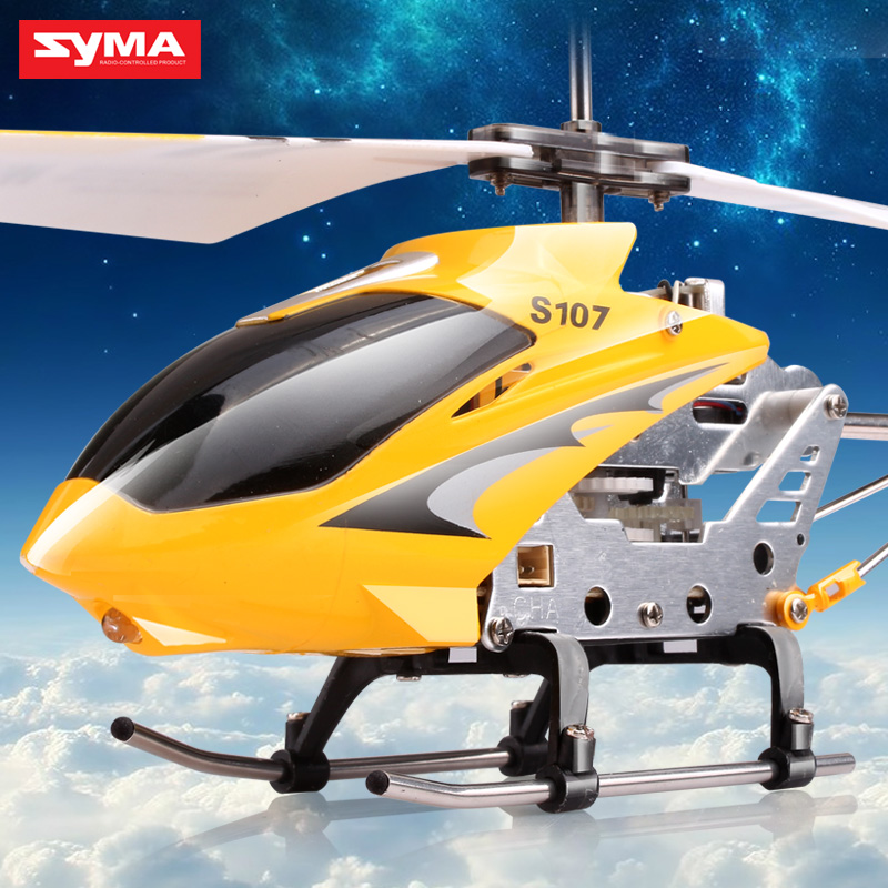 Original Syma S107G 3CH Infrared Remote Control Mini Metal RC Helicopter RTF best children's toys(China (Mainland))