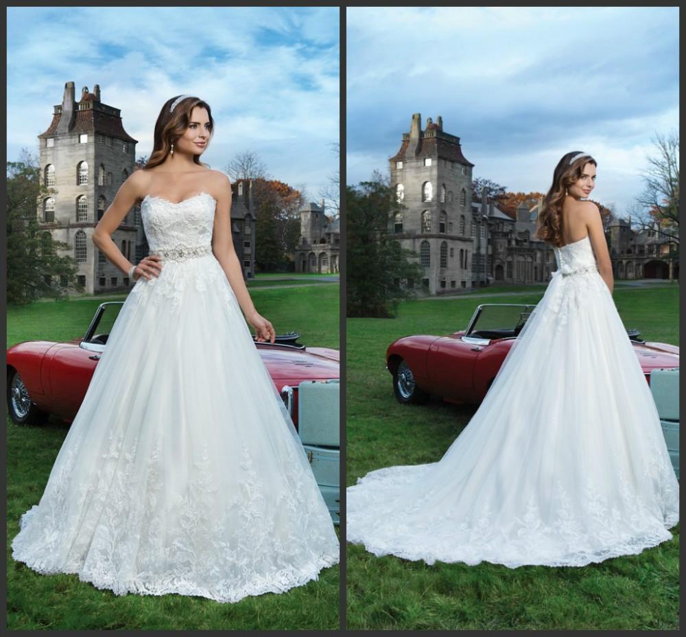 Hüllen-Art-Hochzeits-Kleider