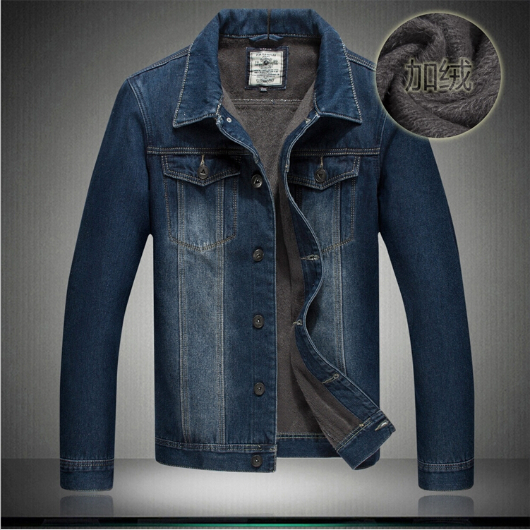 Very good quality 2014 mens clothing mens jeans jackets man denim jacket 100% cotton outerwear thick shirt 5xl 6xl 7xl #002Одежда и ак�е��уары<br><br><br>Aliexpress