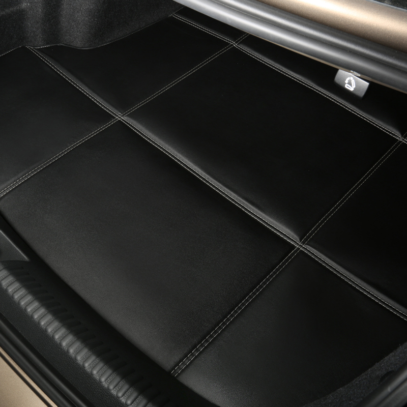 dedicated leather car trunk mats folded boot carpets for Porsche 911 Boxster MACAN leather car trunk mat<br><br>Aliexpress