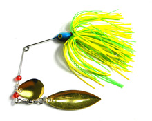 Metal 1pcs/lot Fishing Lure Spinnerbait 17g Fresh Water Shaltwater Water Bass Walleye Crappie Minnow free shipping