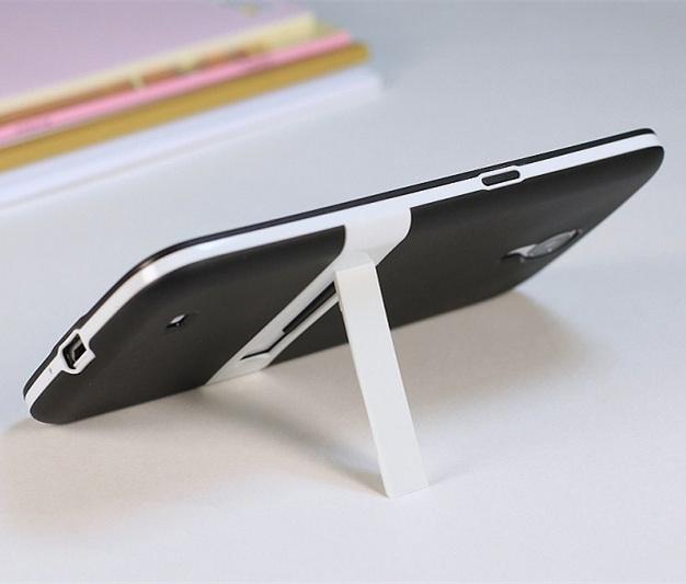 Slim PC+TPU Case Cover Holder Soft case cover samsung galaxy mega 6.3 I9200 I9205 + - Online Store 833609 store