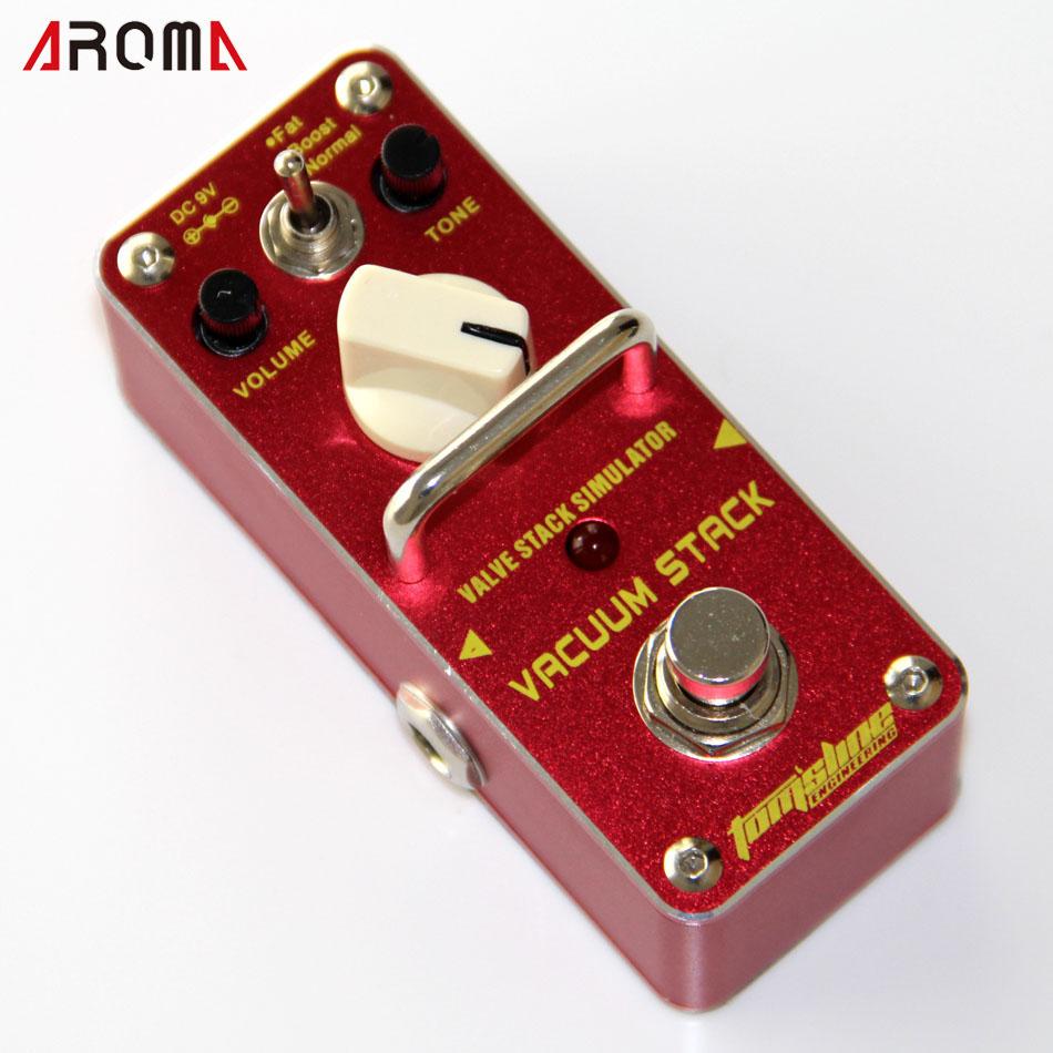 AROMA AVS-3 VACUUM STACK True Bypass Valve stack simulator distortion Mini Analogue Effect Pedal(China (Mainland))