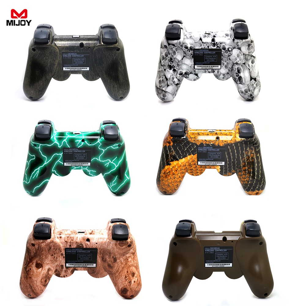 MIJOY SIXAXIS Gamepad for PS3 Bluetooth Remote Controller Wireless Gamepad Mouse Joystick For Playstation IPad PC TV IOS Android(China (Mainland))