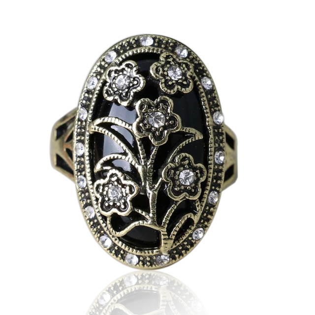 Кольца бесплатная доставка 2015 подвески мода старинные свадебные цветы высокое качество плакировкой цветочного дизайна для женщин
