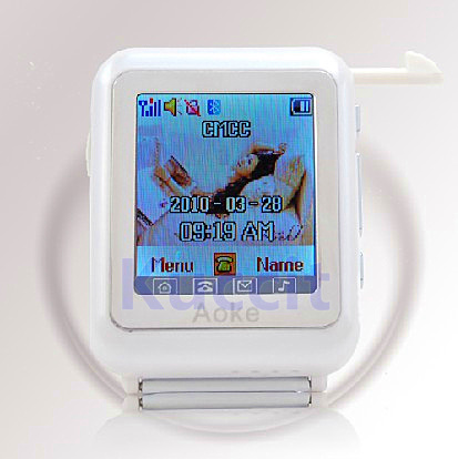 "AK810 students kids 1.3"" full touch screen Tri band Single SIM bluetooth video player dropshipping wholesale,cheap watch phone(China (Mainland))"