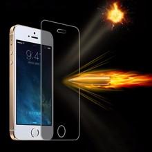 for protector screen iphone 5c 5s 5 0.26mm Ultra Thin tempered glass ecran protecteur for iphon 5c 5s pelicula de vidro