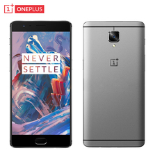 Original Oneplus 3 Cell Phone 6GB RAM 64GB ROM Snapdragon 820 Quad Core 5 5 HD