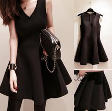 Buy 2017 spring summer new women dress sleeveless v-neck dress temperament Slim for $12.99 in AliExpress store