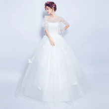 Robe De Mariage Princess Luxury Crystals White Wedding Dress Gown 2016 Bridal lace up Wedding Gown Vestido De Noiva,607,ty1433(China (Mainland))