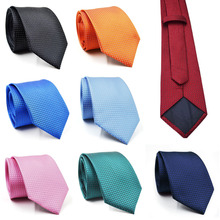2017 New Brand Fashion Men's Neck Ties Male Wedding Tie Neckties For Men 8 Colors Freeshipping