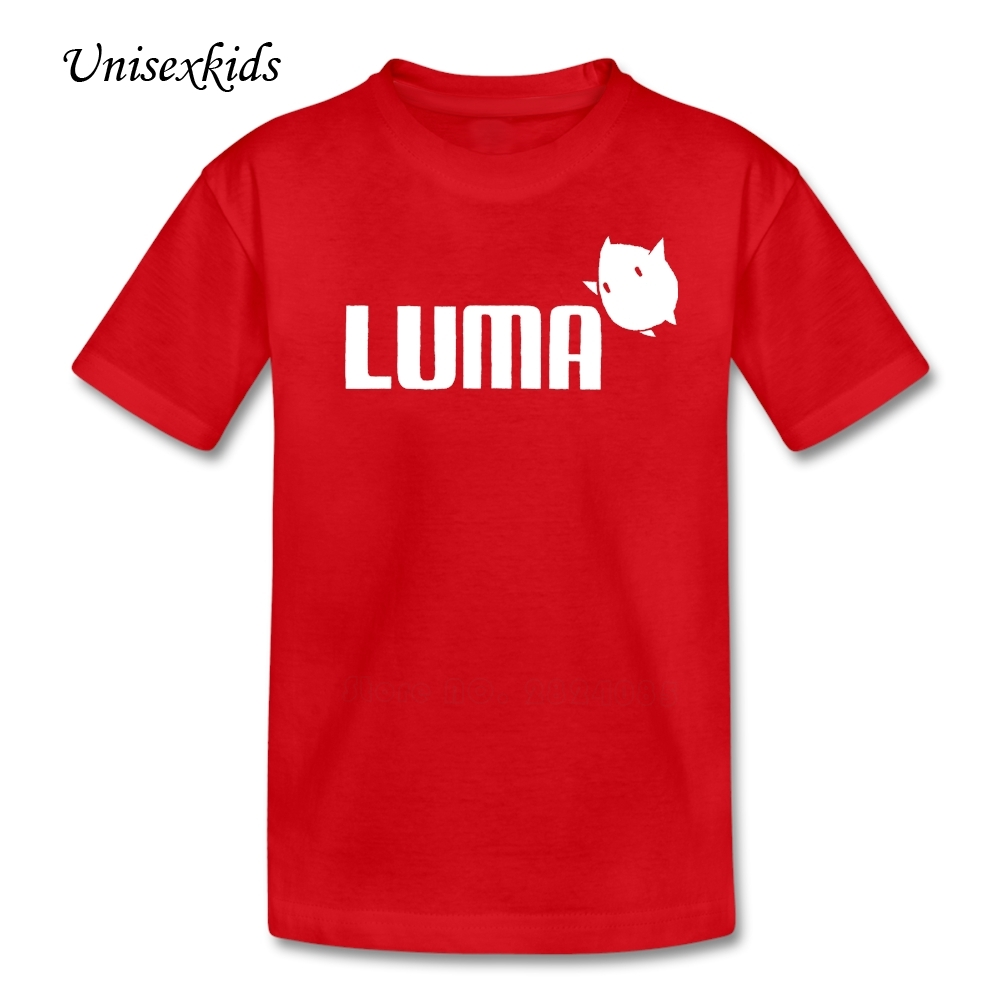 Tees Boys&Girls Summer Short Sleeve Luma Picture T Shirt Baby T-shirt 100% Cotton Clothing Top(China (Mainland))