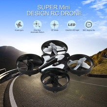 Super Mini Design RC Drone Dron 2.4GHz 4CH 6 Axis Gyro Quadcopter with LED light Speed Switch Fly Helicopter JJRC H36 VS H8 H20(China (Mainland))